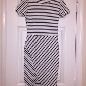 White and Black Zara Dress
